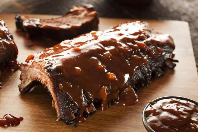 Calories in BBQ Ribs