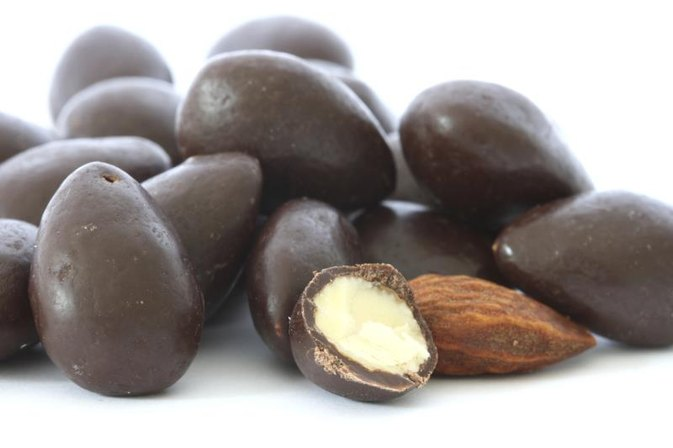 Calories in Dark Chocolate Covered Almonds