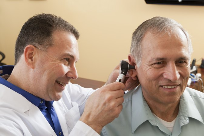 Spots in the Ear Canal