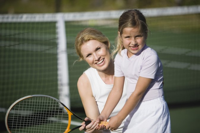 Fun Tennis Games for Four Year Olds
