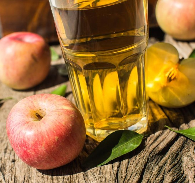 Grape Juice, Apple Juice & Vinegar for Cholesterol