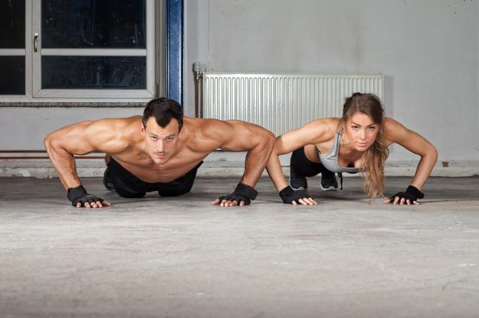 The Average Push-Ups for Men & Women