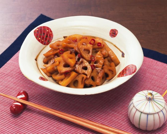 Nutrition in Lotus Root