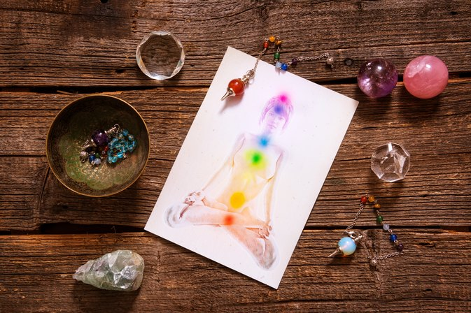 How to Lose Weight Using Chakras and Reiki