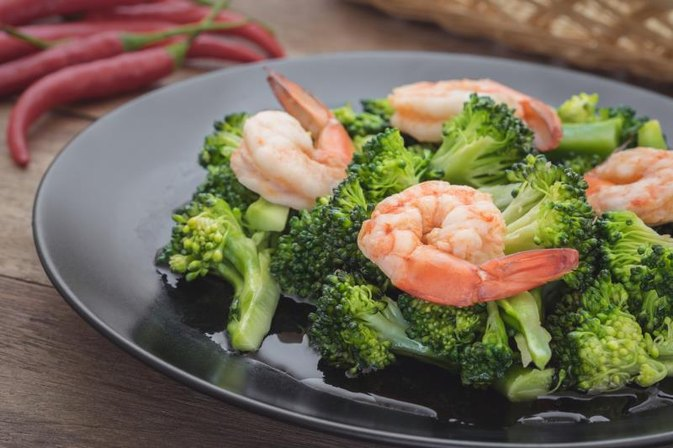 Shrimp & Broccoli Nutritional Facts