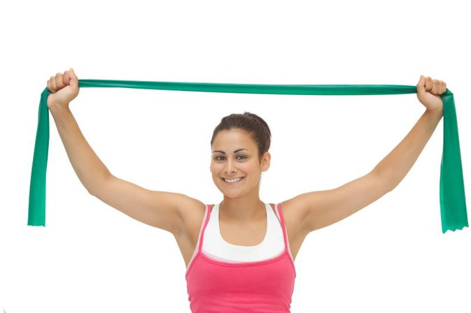 Shoulder Exercises With Resistance Bands