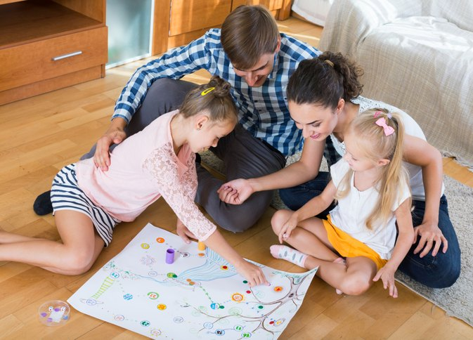 The Advantages of Playing Learning Games with Kids