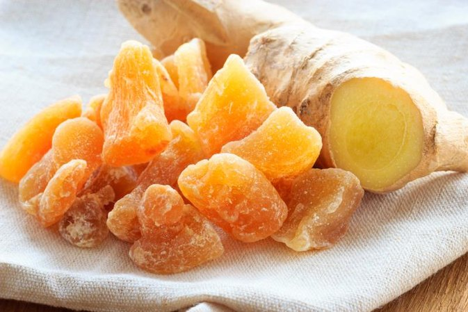 Crystallized Ginger Nutrition