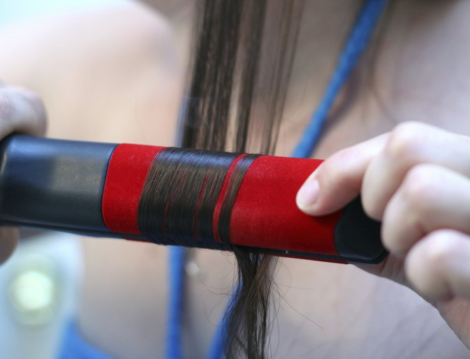 How to Straighten Your Hair Without Burning It