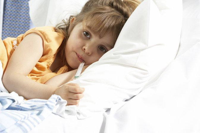 Causes for a Low Grade Fever in a Child