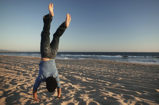 Can You Get Stronger Doing Handstands?