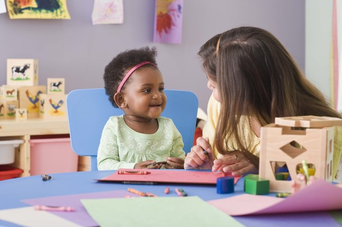 The Physical Development of Infants & Toddlers in Child Care