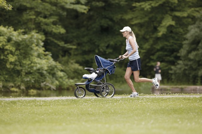 Can I Push a Regular Stroller While Jogging?