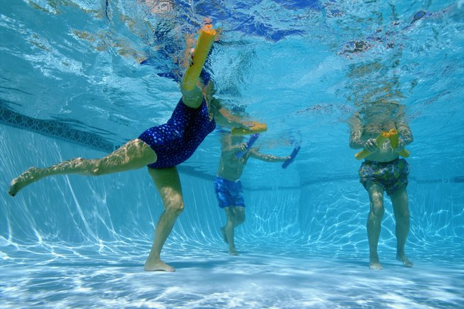 Walking in an Aquatic Pool for Chronic Back Pain