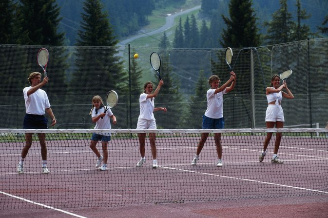 Five Components of Physical Fitness in Tennis