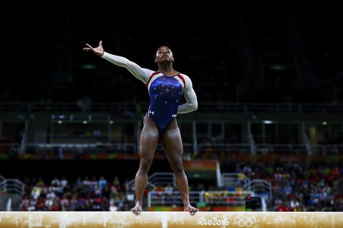 We Can't Believe Olympian Simone Biles Was Fat Shamed by Her Coach