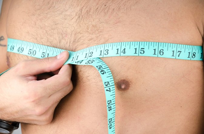 How can you get rid of chest fat?