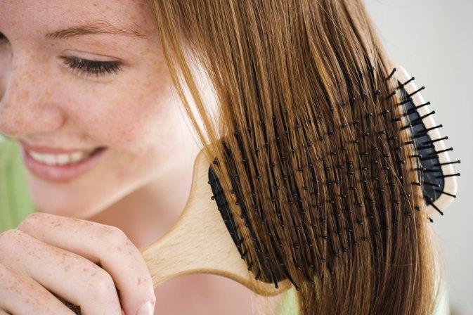 Brushing haare