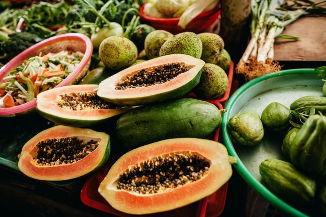 Vitamins in Papaya Fruit