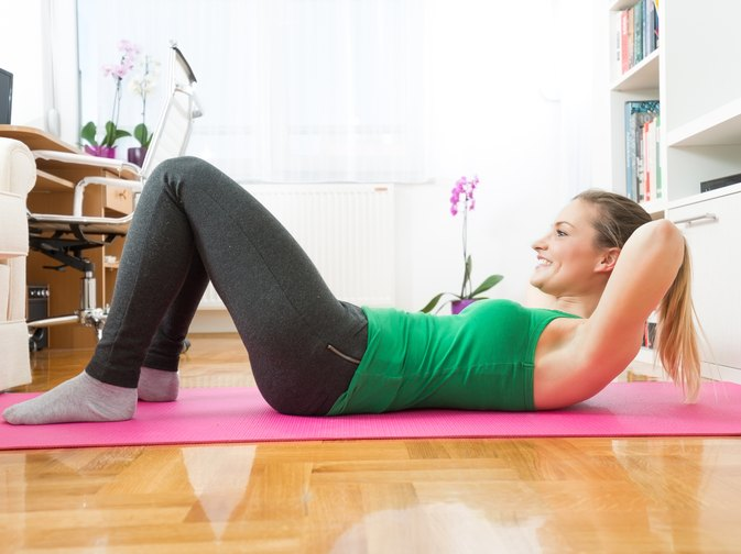 How to Do Sit-Ups Without Hurting Your Tailbone