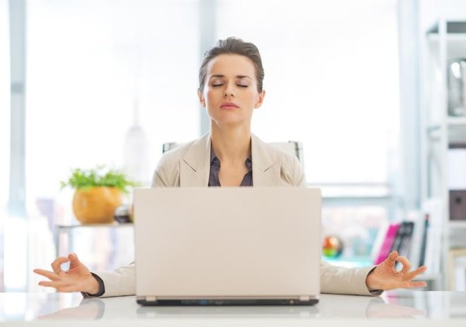How to Get Away With Meditating at Work