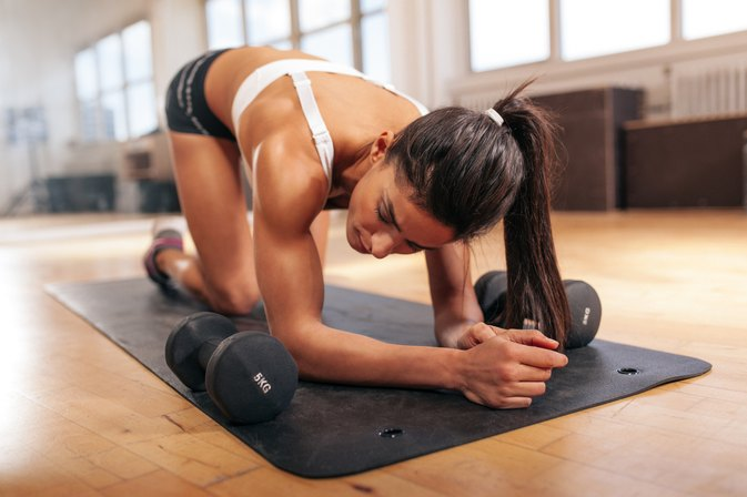 Push-Ups That Work the Shoulders