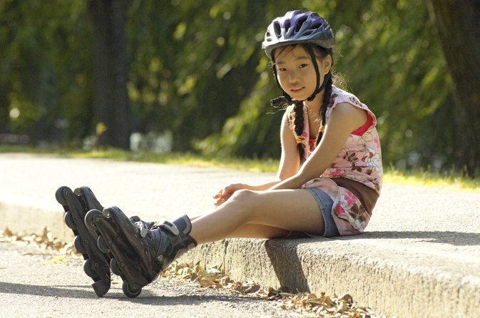 How to Teach a Child to Rollerblade