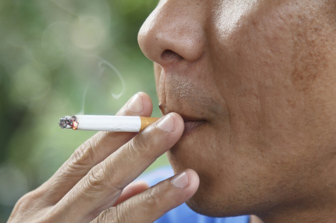Can Cigarette Smoke on Clothing Cause Allergy Symptoms?