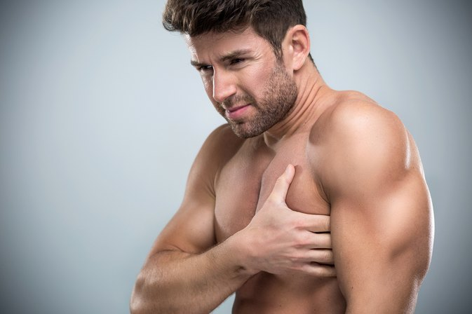 exercises to strengthen chest muscles to alleviate pain, Cephalic Vein