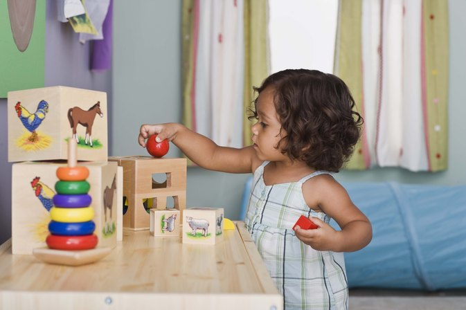 Toys for a Toddler's Sensorimotor Development