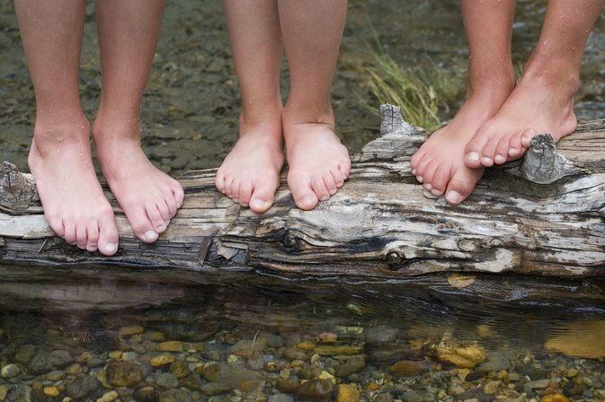 Flat Feet in Teenagers