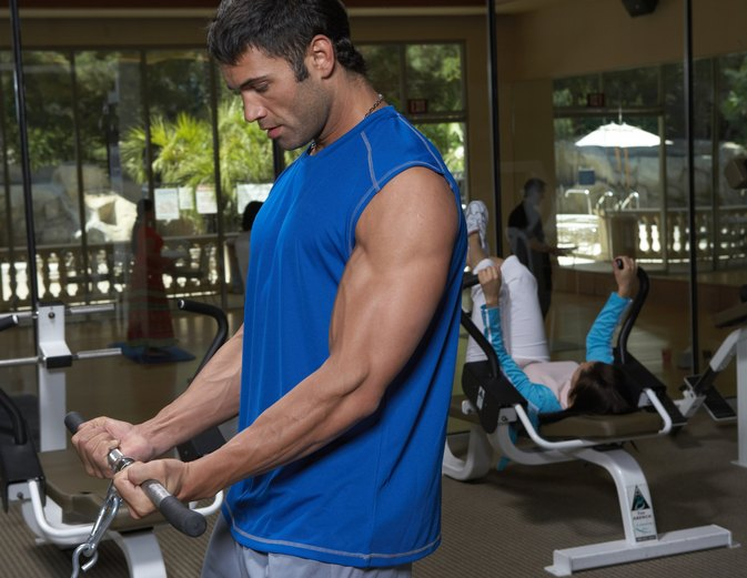 Bicep Exercises With a Cable Machine