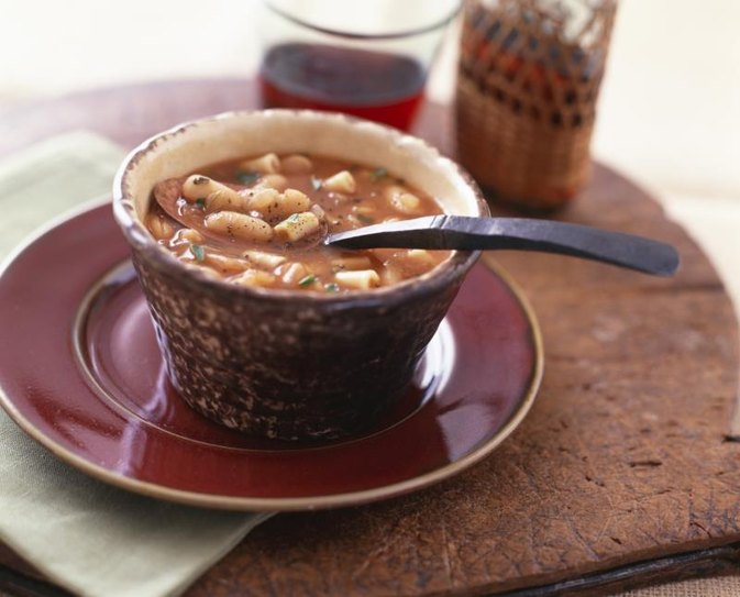Calories in Pasta Fagioli Soup