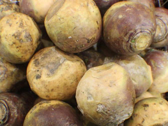 How to Peel a Rutabaga