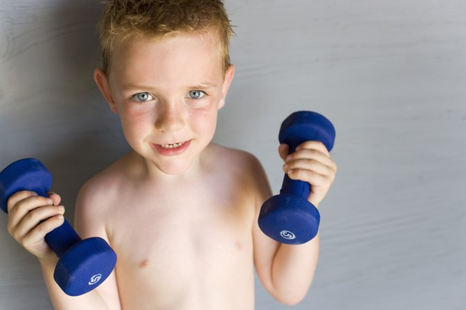 Is it Good for 10 Year Old Boys to Lift Weights?