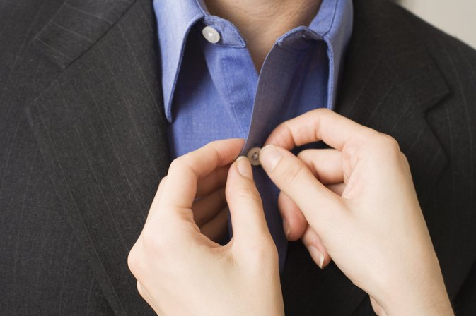 How to Steam a Dress Shirt Vertically