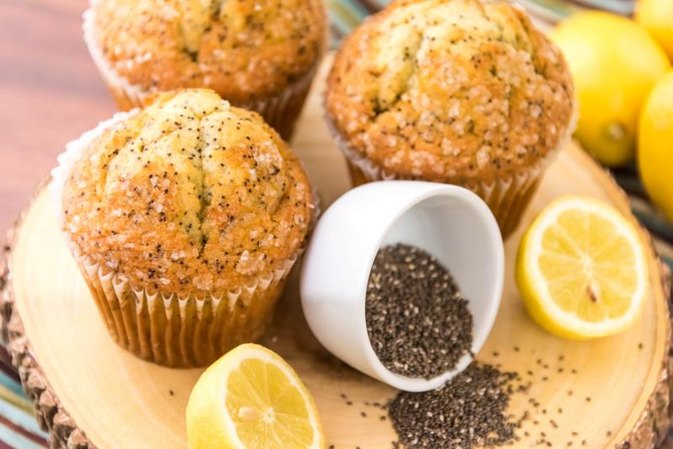Nutrition of a Lemon Poppy Seed Muffin