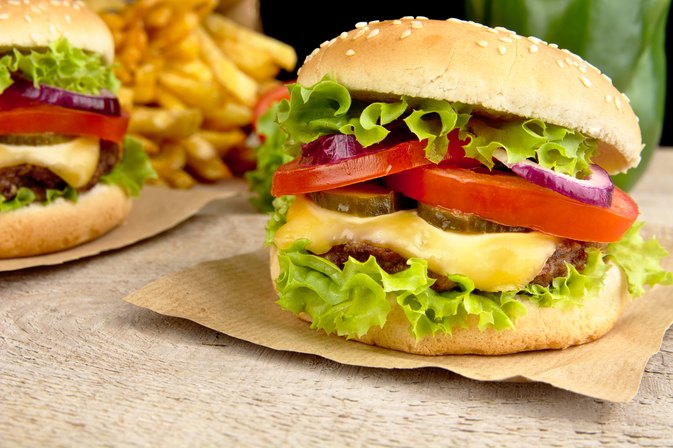 Statistics of Health Risks From Eating Fast Food