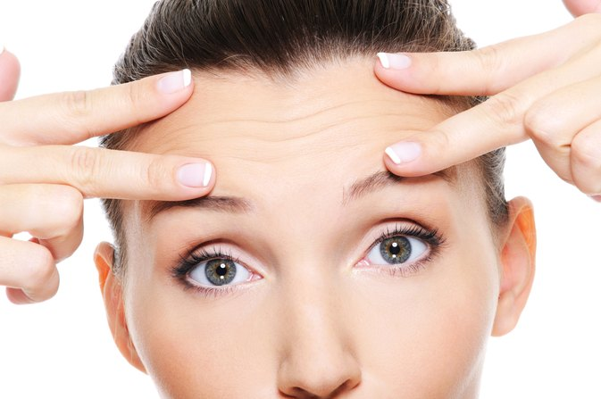 How to Get Rid of Forehead Frown Lines