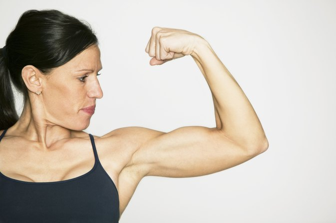 Exercises to Slim Down for Naturally Muscular Women