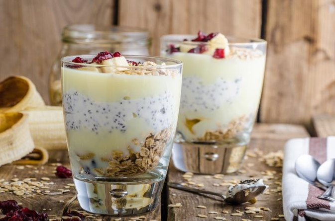 Yogurt Granola Parfait Calories