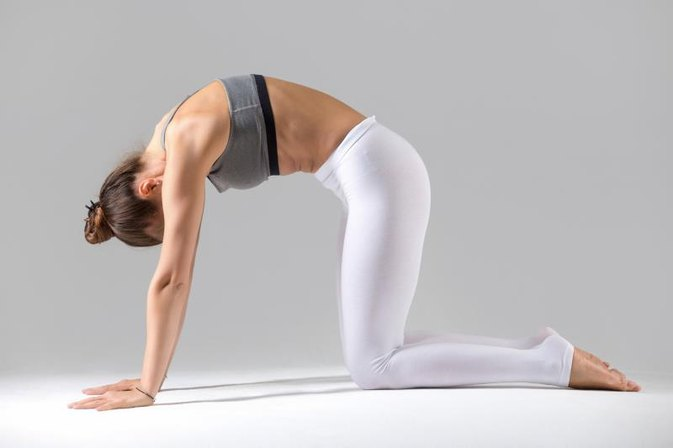 Yoga Stretches for the Upper Back