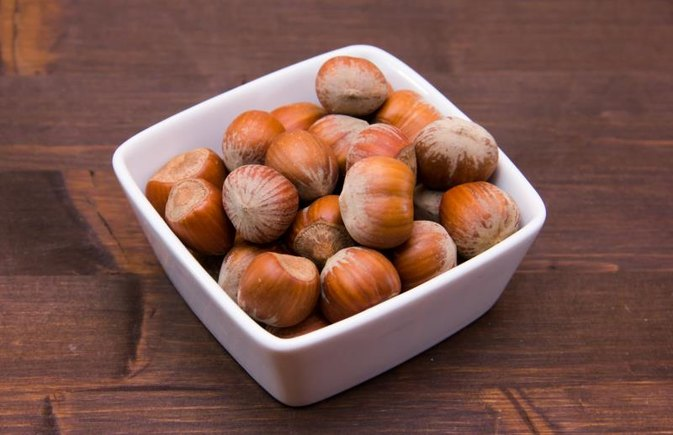 How to Dry-Roast Hazelnuts