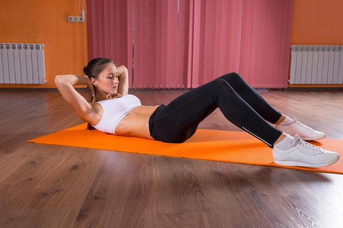 Home Exercises for Toning the Arms, Back, Belly, & Love Handles