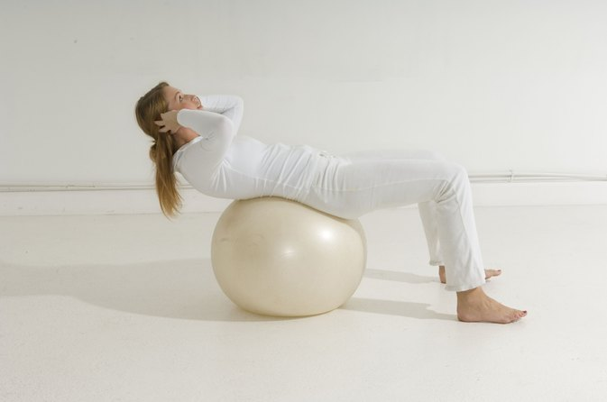 Exercise Ball Work for Lower Back Pain
