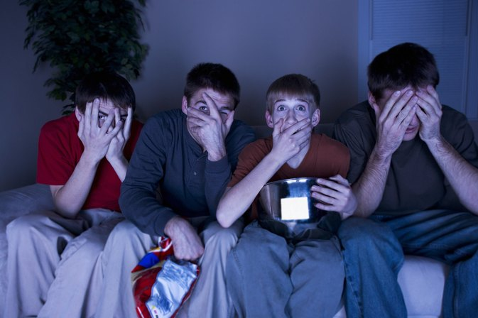 The Lasting Effects of Horror Movies on Children and Teens