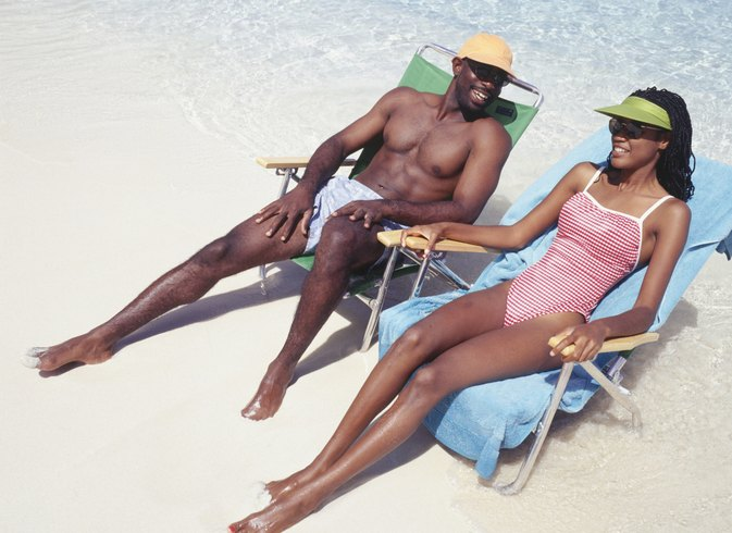 Does Sunbathing Burn Calories?