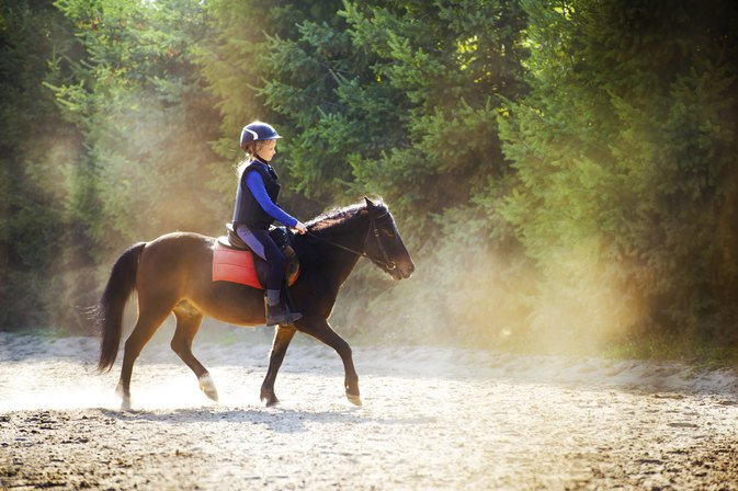 Exercises to Improve & Strengthen Horseback Riding Posture