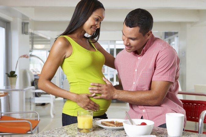 how to eat healthy to get pregnant