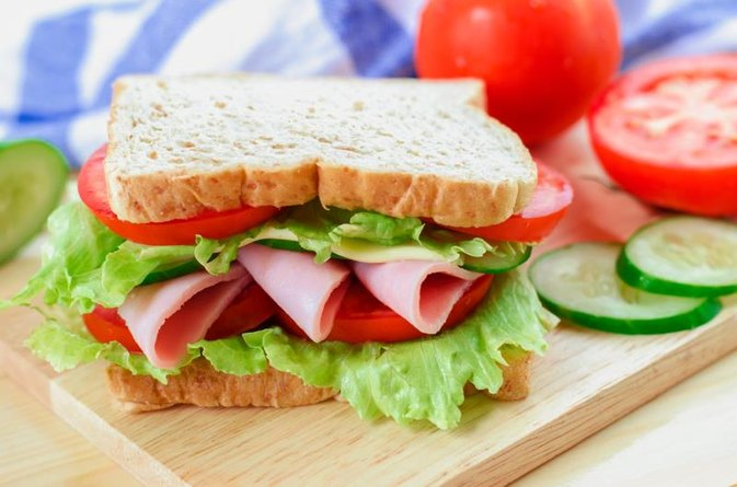 Ham & Turkey Sandwich Calories